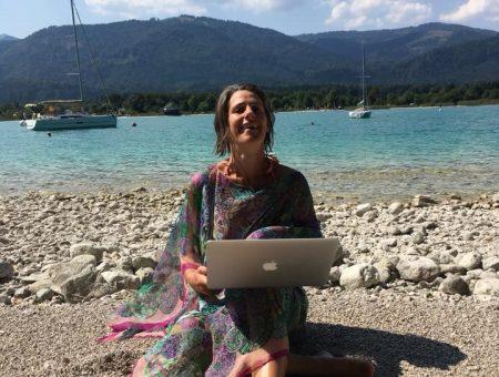 Julia Wolfgangsee Laptop